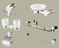 Bộ phụ kiện phòng tắm Tùng Lâm TL-6700 - đồng mạ crom 6 món