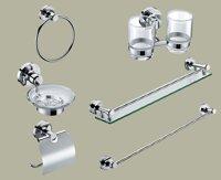 Bộ phụ kiện phòng tắm Tùng Lâm TL-9700 - đồng mạ crom 6 món