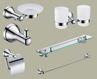 Bộ phụ kiện phòng tắm Tùng Lâm TL-6900 - đồng mạ crom 6 món