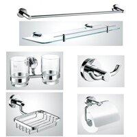 Bộ phụ kiện phòng tắm Tùng Lâm TL-927 - inox 6 món