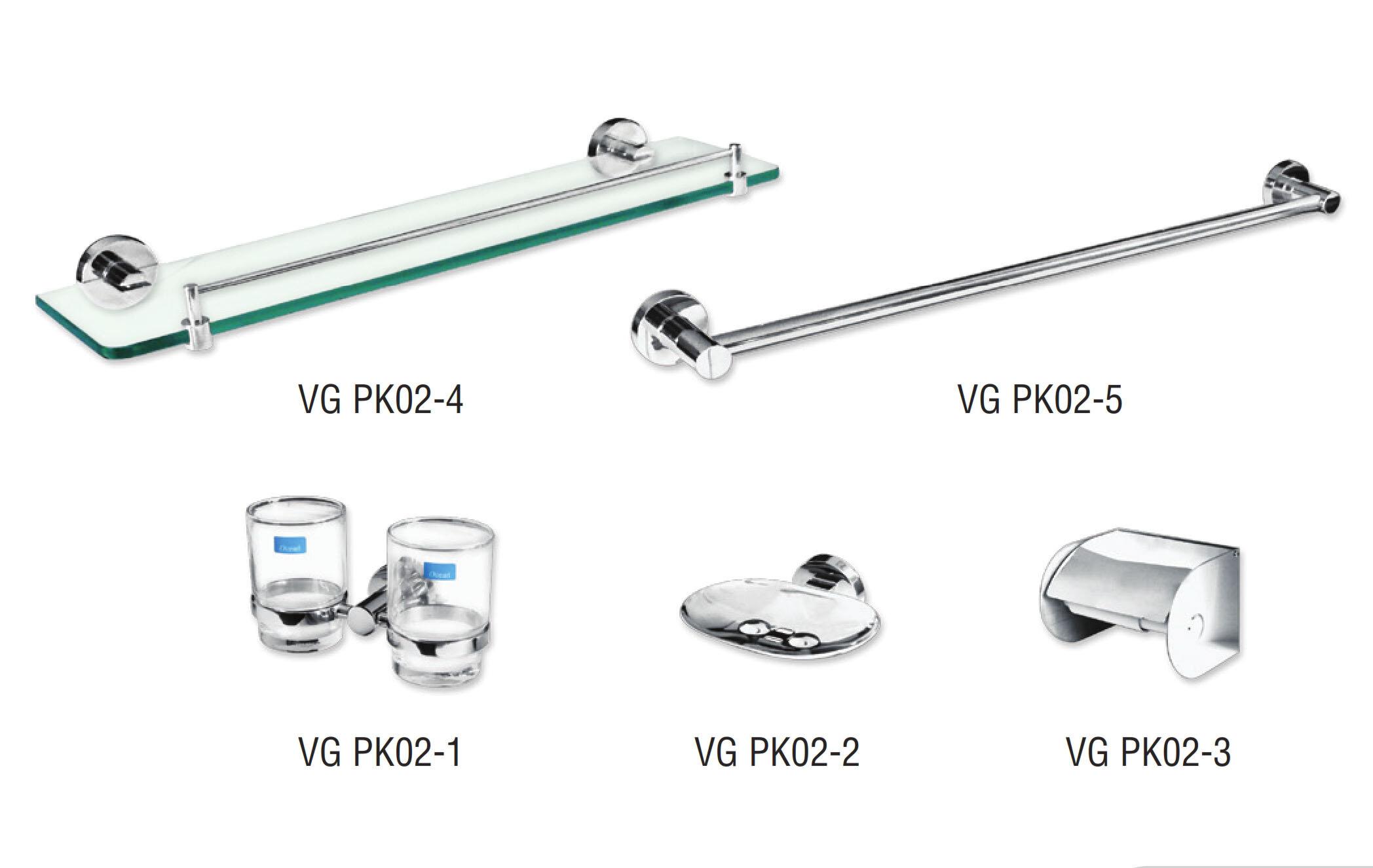Bộ phụ kiện phòng tắm VGPK02