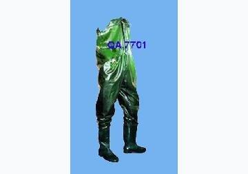 Bộ quần áo bảo hộ lao động chống nước QA7701