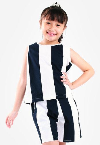 Bộ quần áo bé gái UGETHER UKID56