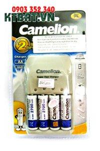 Bộ sạc pin AA, AAA Camelion BC-0905A , 4 pin sạc AA2700mAh