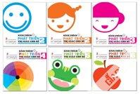 Bộ sách kích thích phát triển thị giác cho bé (trọn bộ 6 cuốn)