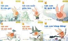 Bộ sách lợn con vui vẻ (3 - 6 tuổi)