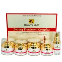 Bộ sản phẩm chăm sóc da Beauty Leaf Treatment Comple