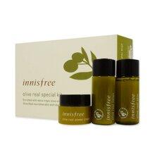 Bộ sản phẩm chăm sóc da mặt Innisfree Olive Real Special Kit
