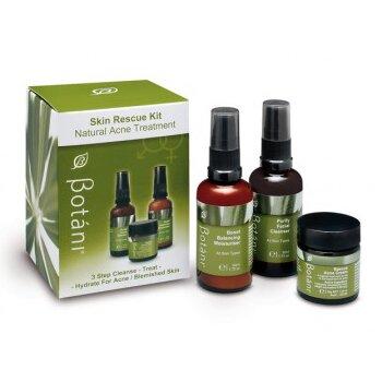 Bộ sản phẩm chăm sóc da mụn Botáni Rescue Skin Kit