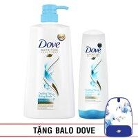 Bộ sản phẩm Dove dưỡng tóc bồng bềnh