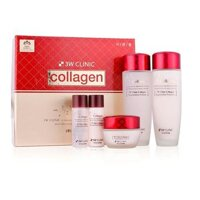 Bộ sản phẩm dưỡng da COLLAGEN SKIN CARE 3W CLINIC