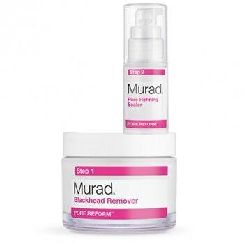 Bộ sản phẩm giảm mụn cám, se khít lỗ chân lông Murad Blackhead and Pore Cleansing Dou
