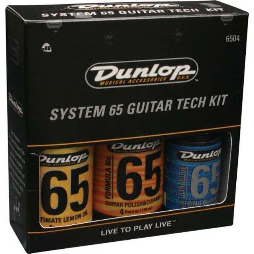 Bộ sản phẩm lau đàn Dunlop 6504