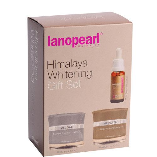 Bộ sản phẩm trị nám & dưỡng trắng da Lanopearl Himalaya Whitening Gift Set