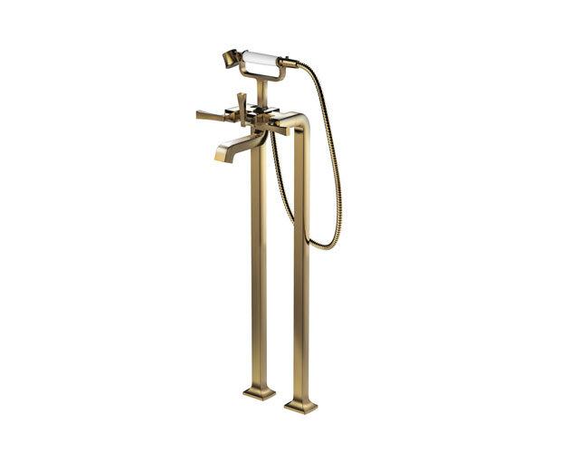 Bộ sen vòi bồn tắm đặt sàn TOTO DM209CF#PG