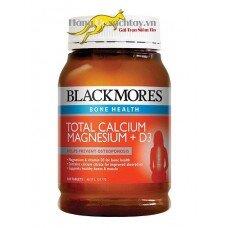 Bổ sung canxi magie và vitamin D3 Blackmores total Calcium & Magnesium + D3 200 viên