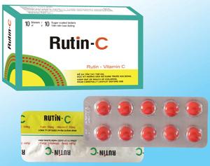 Bổ sung vitamin C Rutin-C