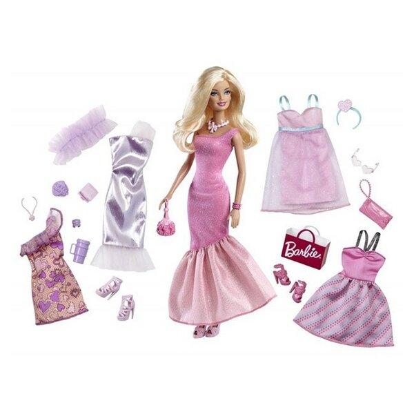 Bộ sưu tập thời trang Barbie BCF75 (BCF76)