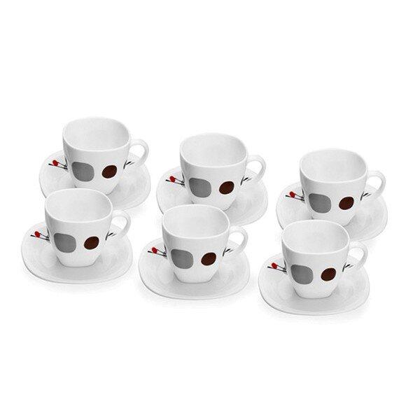 Bộ tách trà thủy tinh Kyoto White Luminarc G6896