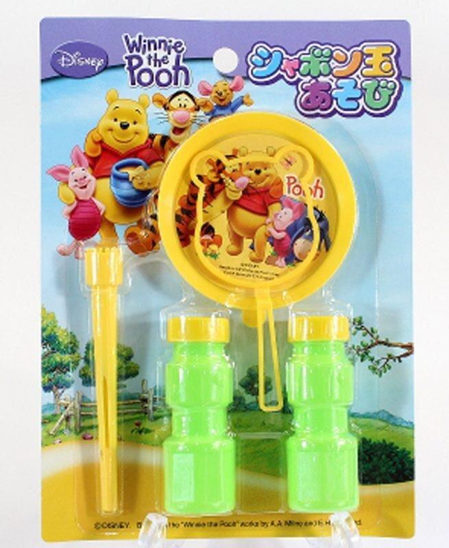 Bộ thổi bong bóng xà phòng Pooh Japan