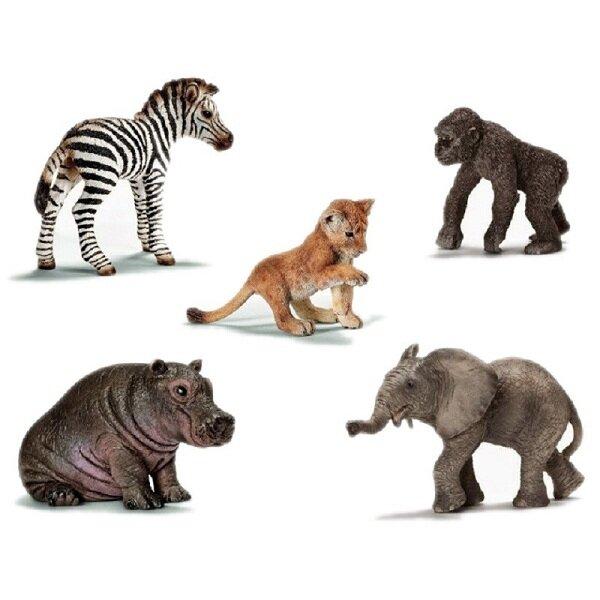 Bộ Thú Con Các Loài Động Vật Hoang Dã Châu Phi