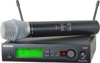 Bộ thu và micro không dây Shure SLX24A/Beta87