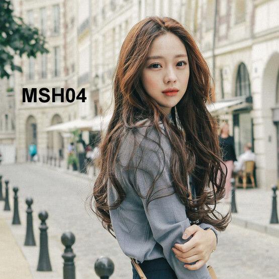 Bộ tóc dài xoăn nhẹ MHS04