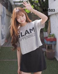 Bộ tóc xoăn dài mái thưa MHS03