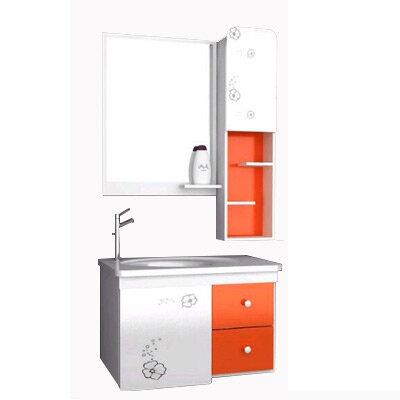Bộ tủ chậu PVC cao cấp BROSS 715-4