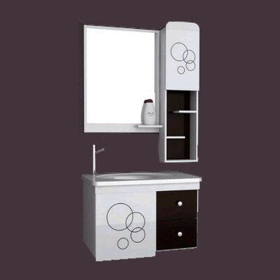 Bộ tủ chậu PVC cao cấp BROSS 715-3