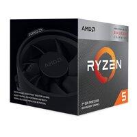 Bộ vi xử lý - CPU AMD Ryzen 5 3400G - 3.7GHz