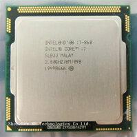Bộ vi xử lý - CPU Intel Core i7-860 - 2.8GHz - 8MB Cache