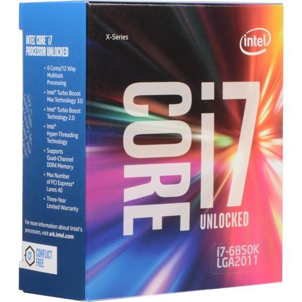 Bộ vi xử lý - CPU Intel Core i7-6850K