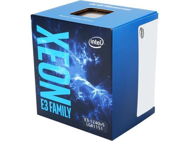 Bộ vi xử lý - CPU Intel Xeon E3 1240V5