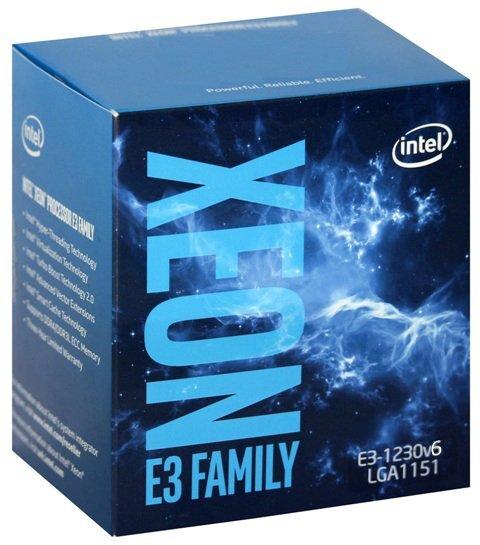 Bộ vi xử lý - CPU Intel Xeon E3 1230V6