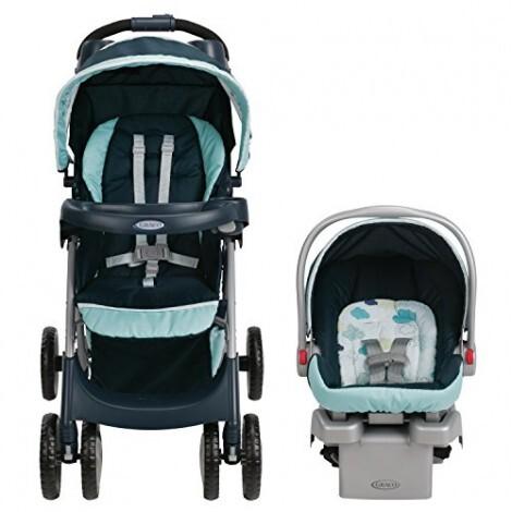 Bộ xe đẩy em bé Graco Comfy + Ghế xe hơi GC-7BG01STU3 (có đế)