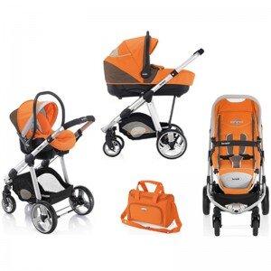 Bộ xe đẩy trẻ em Brevi Ovo 3 trong 1 BRE727 - màu 234/ 239/ 003