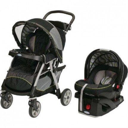 Bộ xe đẩy trẻ em và ghế ngồi ô tô Graco GC-7J39OMN3 (GC-7J390MN3)