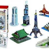 Bộ xếp hình 3D Bộ sưu tập Mini Series 2 Cubic Fun C058H