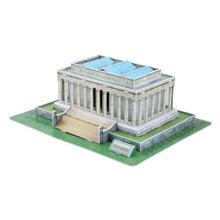 Bộ xếp hình 3D Đài tưởng niệm Lincoln Cubic Fun C104H