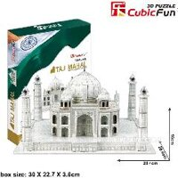 Bộ xếp hình 3D Đền Taj Mahal Cubic Fun MC081H