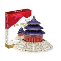 Bộ xếp hình 3D Đền thờ The Temple of Heaven Cubic Fun MC072H