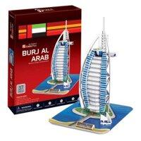 Bộ xếp hình 3D khách sạn Burjal Arab Cubic Fun C065H