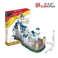 Bộ xếp hình 3D lâu đài Neuschwanstein Cubic Fun MC062H