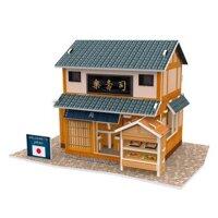 Bộ xếp hình 3D Nhà hàng Sushi Nhật Bản CubicFun W3104H