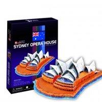 Bộ xếp hình 3D nhà hát Opera Sydney Cubic Fun C067h