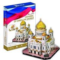 Bộ xếp hình 3D Nhà thờ thánh Saint Isaac's Cathedral Cubic Fun MC122H