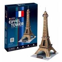 Bộ xếp hình 3D tháp Eiffel Cubic Fun C044H