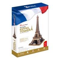 Bộ xếp hình 3D Tháp Eiffel Cubic Fun MC091H