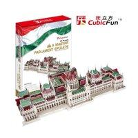 Bộ xếp hình 3D Tòa nhà quốc hội Hungary Parliament Building Cubic Fun MC111H